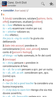 Concise Oxford Italian Dict- screenshot thumbnail