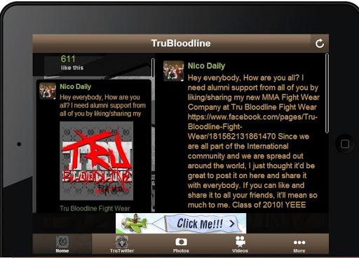 【免費運動App】TruBloodline Fight-APP點子