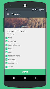 Gem Emerald CM12 Theme v2.0.5