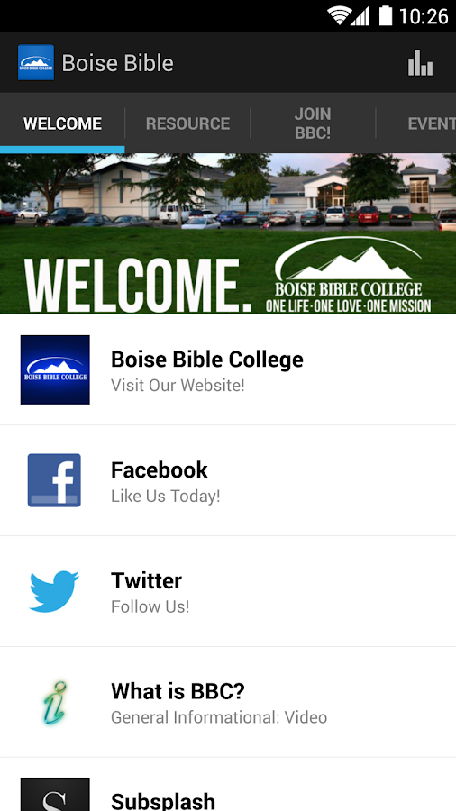Boise Bible College - screenshot