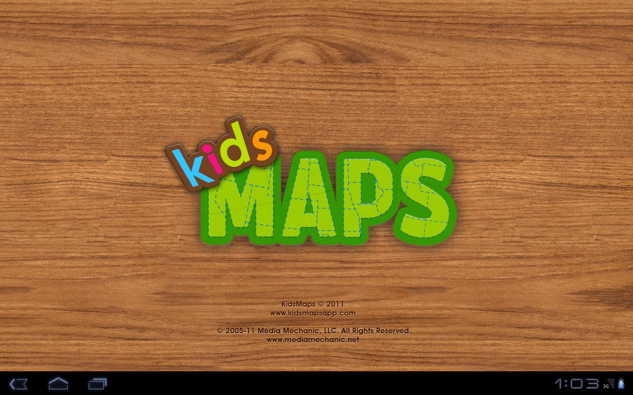 Kids Maps - U.S. Map Puzzle - screenshot