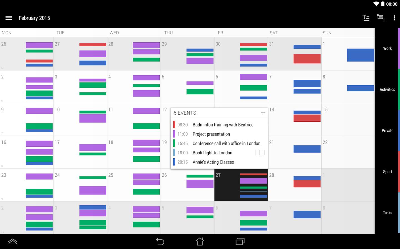 Year Calendar App : Business calendar android apps on google play