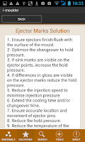 Screenshot of i-Moulder Plastic Molding Info