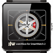 Spinning Rims 3 Watchface SW2
