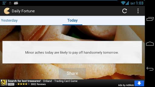 玩免費娛樂APP|下載Daily Fortune app不用錢|硬是要APP