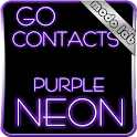 Purple Neon GO contacts theme icon