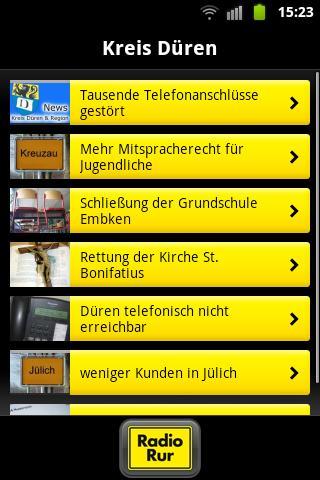Radio Rur- screenshot