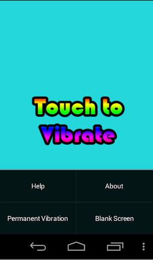 Touch Vibrate