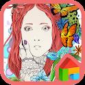 princess flower dodol theme icon