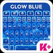 Keyboard Plus Glow Blue
