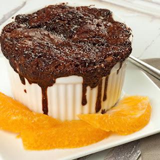 Chocolate-Orange Pudding Cakes