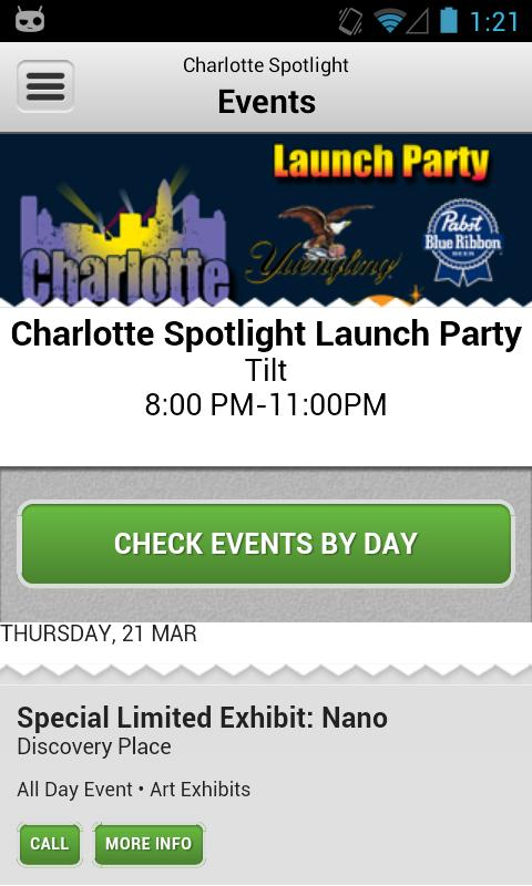 Charlotte Spotlight - screenshot
