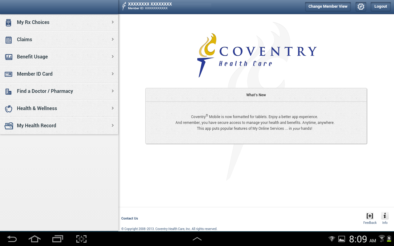 Coventry® Mobile- screenshot