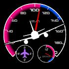 пилотажные приборы - спидометр icon