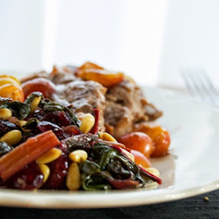 swiss chard with craisins pine nuts a dash of delish swiss chard ...