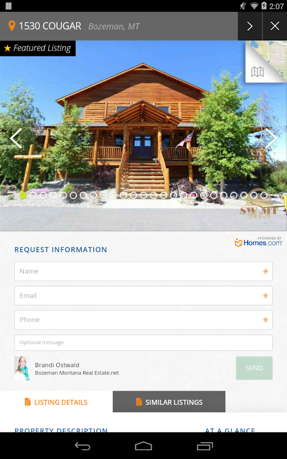 Bozeman Homes Android Apps On Google Play