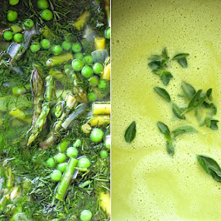 Asparagus and Pea Soup