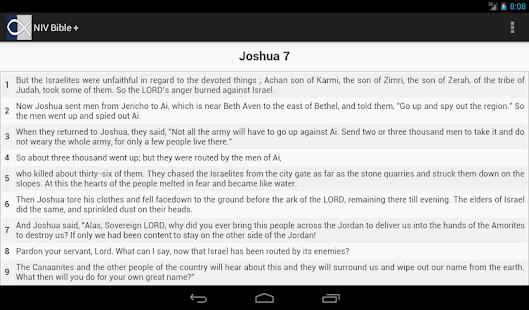 NIV Bible (Ads Free) 書籍 App-愛順發玩APP