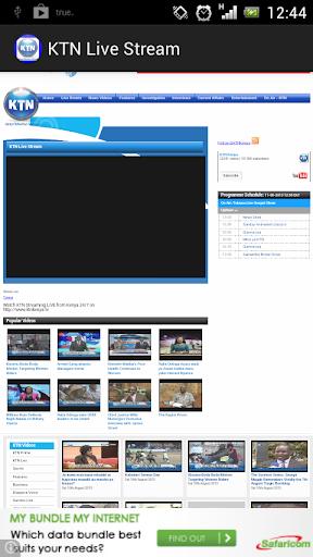 Kenya KTN Live Stream