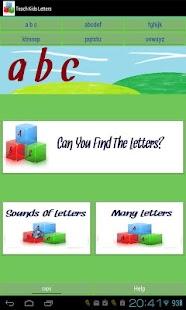 Teach Kids Letters