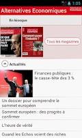 Screenshot of Alternatives Economiques.fr