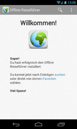 Offline Reiseführer