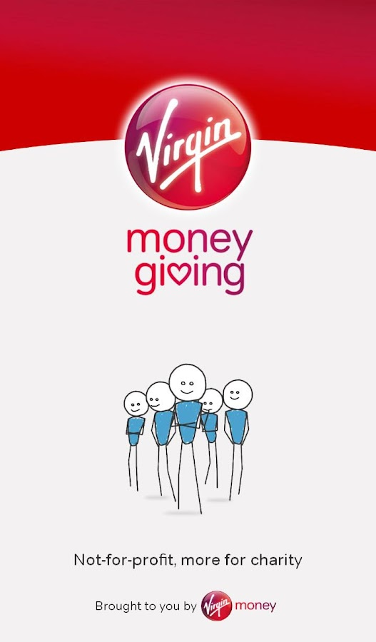 Virgin Money Giving- screenshot