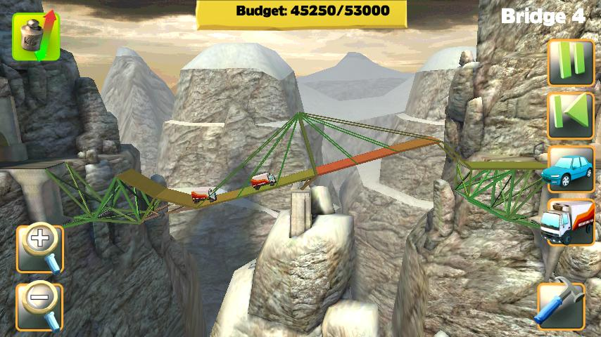 Bridge Constructor FREE- screenshot