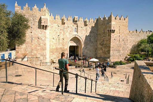 damascus-gate-Jerusalem - Damascus Gate in Jerusalem, Israel.
