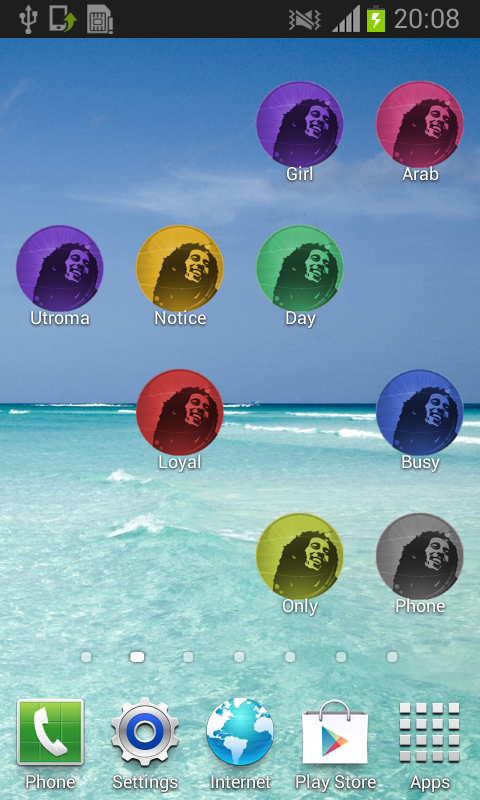 Free Reggae Ringtones - screenshot