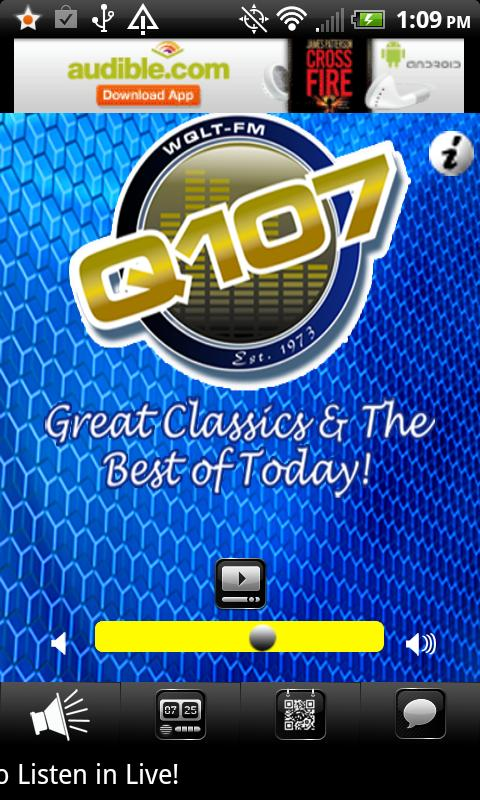 WQLT Q107 FM - screenshot