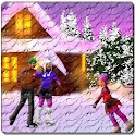 Snowy Ice Rink HD icon