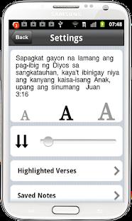 Tagalog Bible ( Ang Biblia ) - screenshot thumbnail
