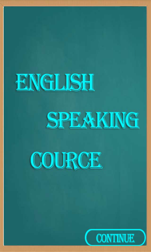 English Speaking Course