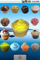 Screenshot of Cupcake Widget Stickers