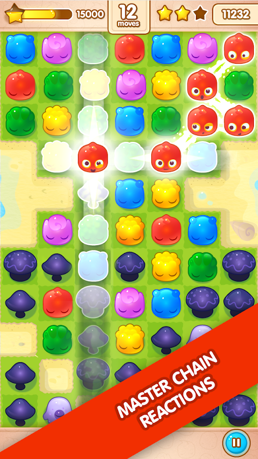 Jelly Splash - screenshot