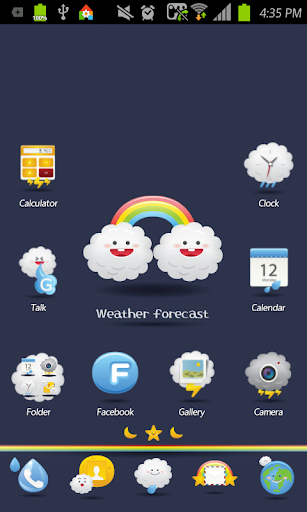 Weather Forecast Go Launcher
