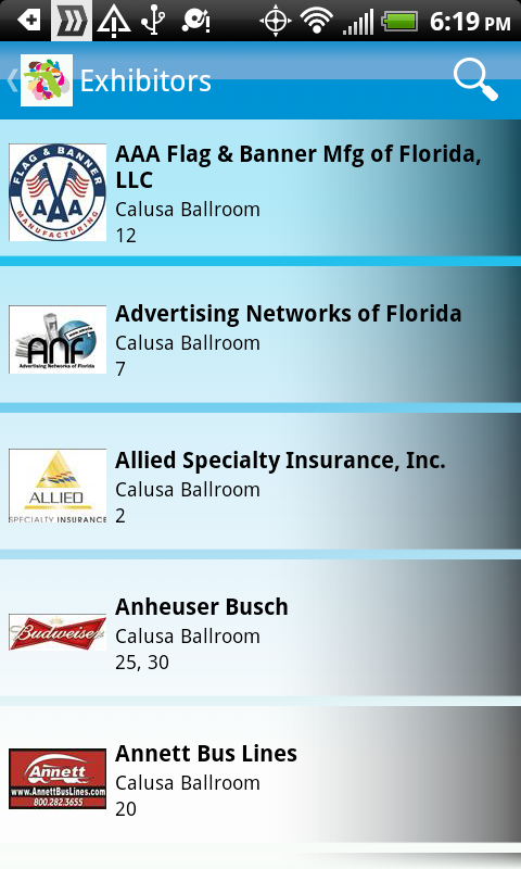 FFEA Convention & Tradeshow - screenshot