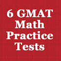 6 GMAT Practice Tests (Math) logo