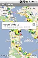 Screenshot of Find Craft Beer
