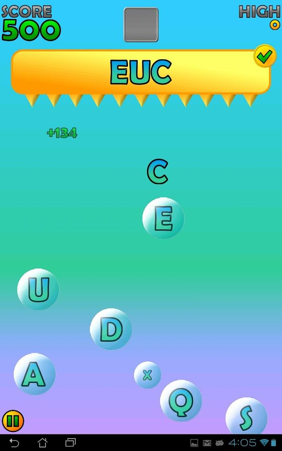 Poppin' Words - screenshot