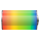 Battery charge widget icon