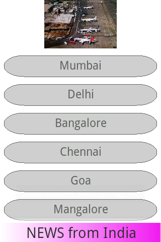 Airports of India - Map GPS