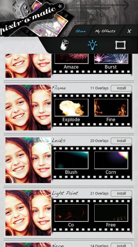 Pixlr-o-matic screenshot #4