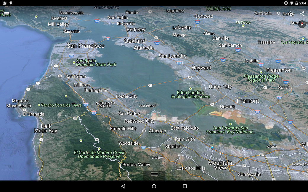 #9. Google Earth (Android)