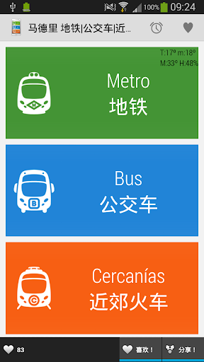 马德里 地铁 公交车 近郊火车 Madrid MBC