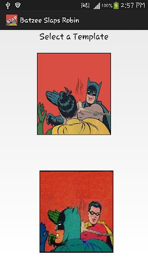 Batzee Slaps Robin