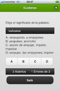 Euskeraz ikasi- screenshot thumbnail