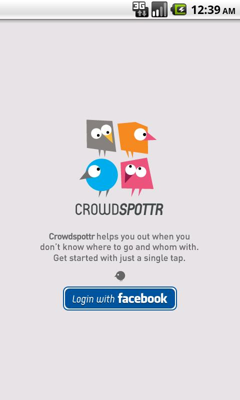 Crowdspottr - screenshot
