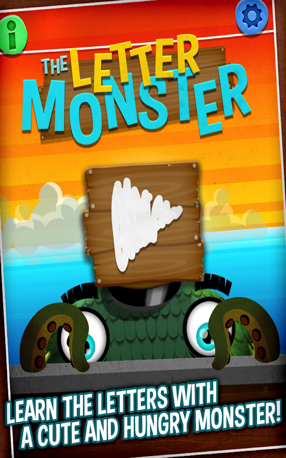 The Letter Monster - screenshot